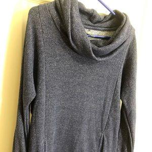 Aerie blue sparkle sweatshirt
